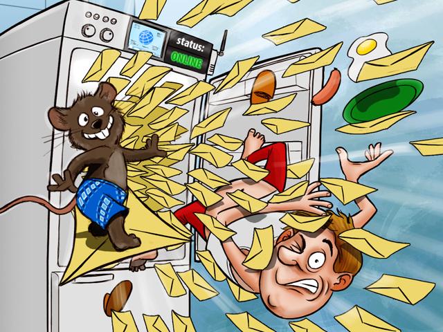 Спам из... холодильника
