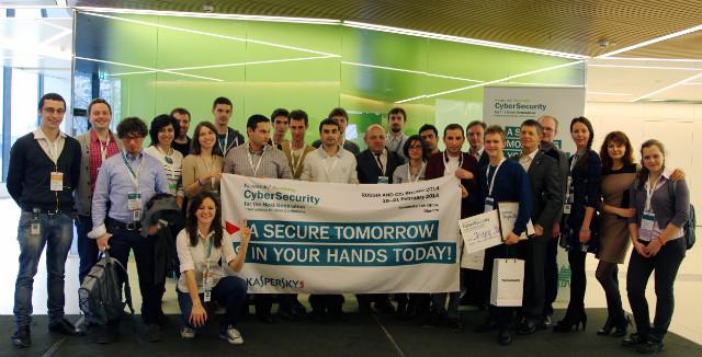 Все участники конференции SyberSecurity For The Next Generation