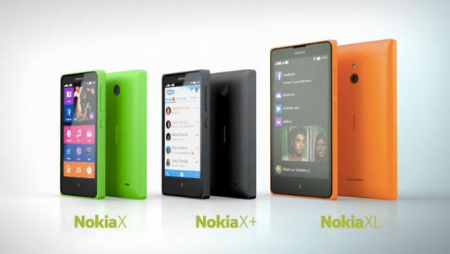 Семейство смартфонов Nokia X