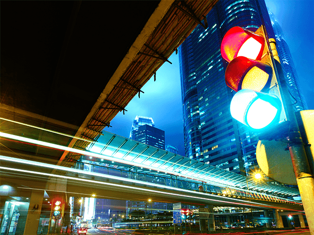 Взлом светофора