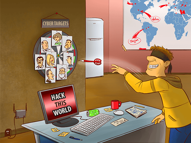 Почему хакеры взламывают вашу сеть?
