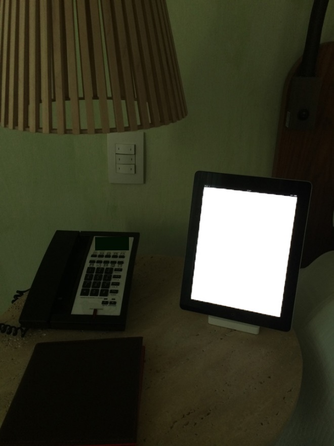 In-room tablets