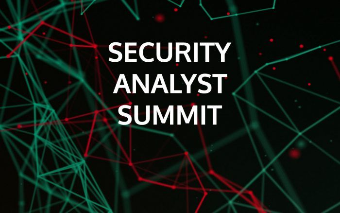 Security Analyst Summit 2015 #theSAS2015