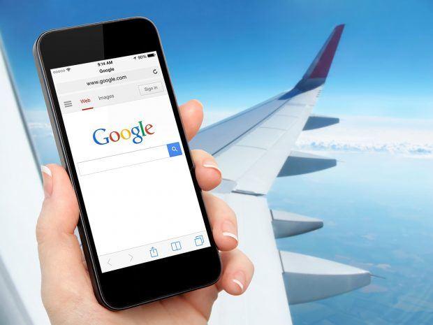 Как работает интернет на борту самолета