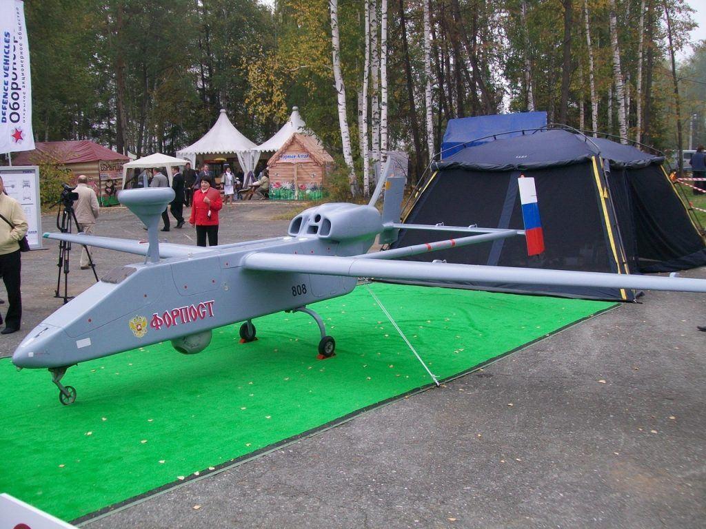 """IAI Searcher 2 на службе российской армии под названием """"Форпост"""""""