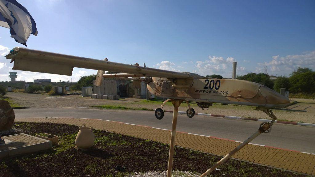 IAI Scout - первый беспилотник израильской разработки