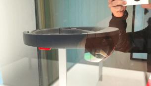 Microsoft HoloLens: Как я трогал будущее