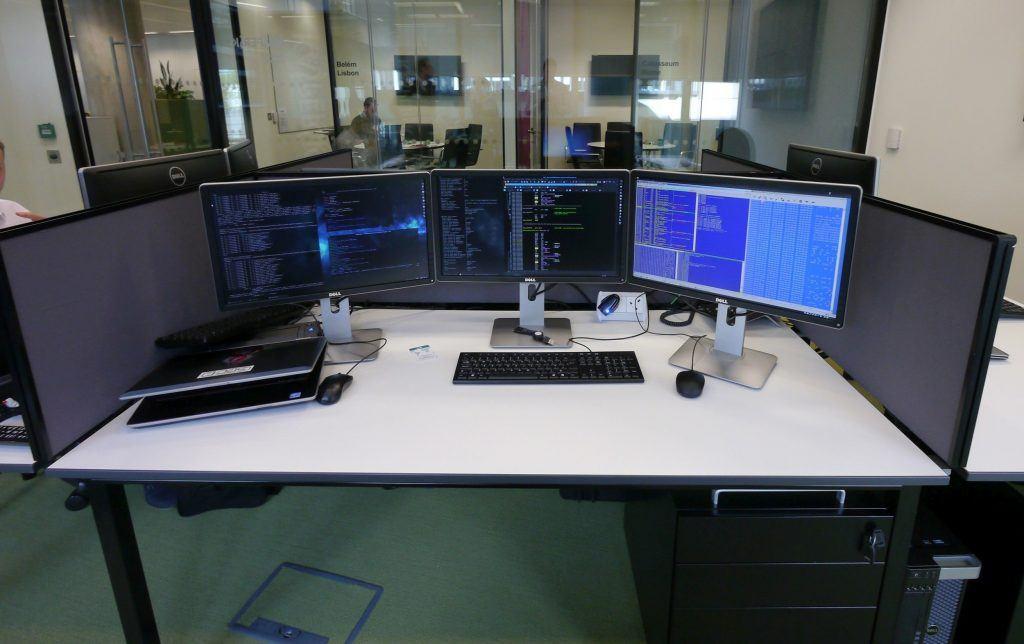 Рабочее место для штурма вредоносного кода
