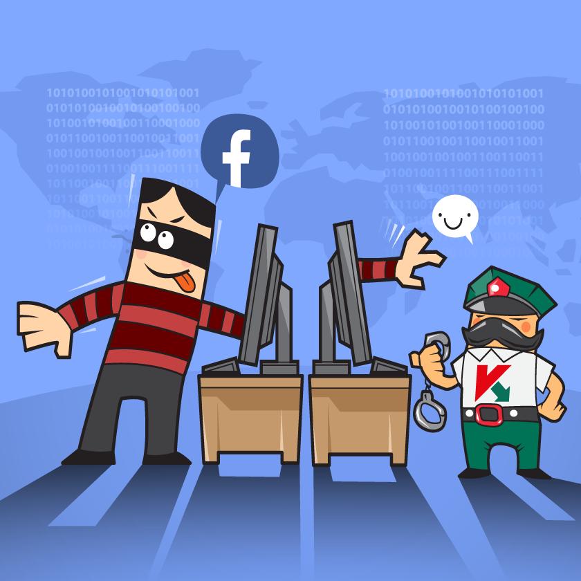 Kaspersky Malware Scan for Facebook бесплатно защищает вашу учетную запись Facebook
