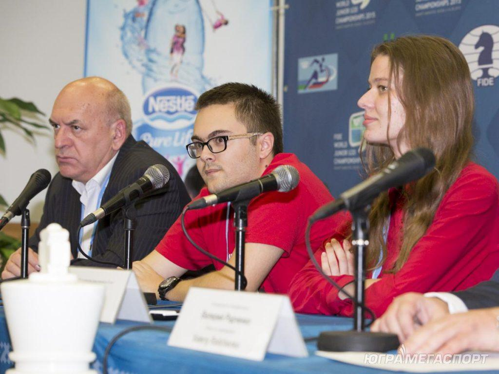 Михаил Антипов стал чемпионом мира по шахматам среди юниоров 2015
