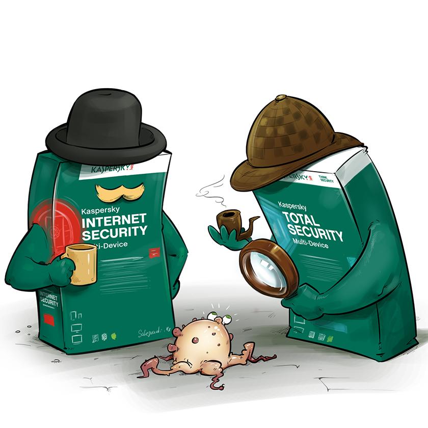 Антивирусы KIS и KTS легко находят зловредов и вирусы