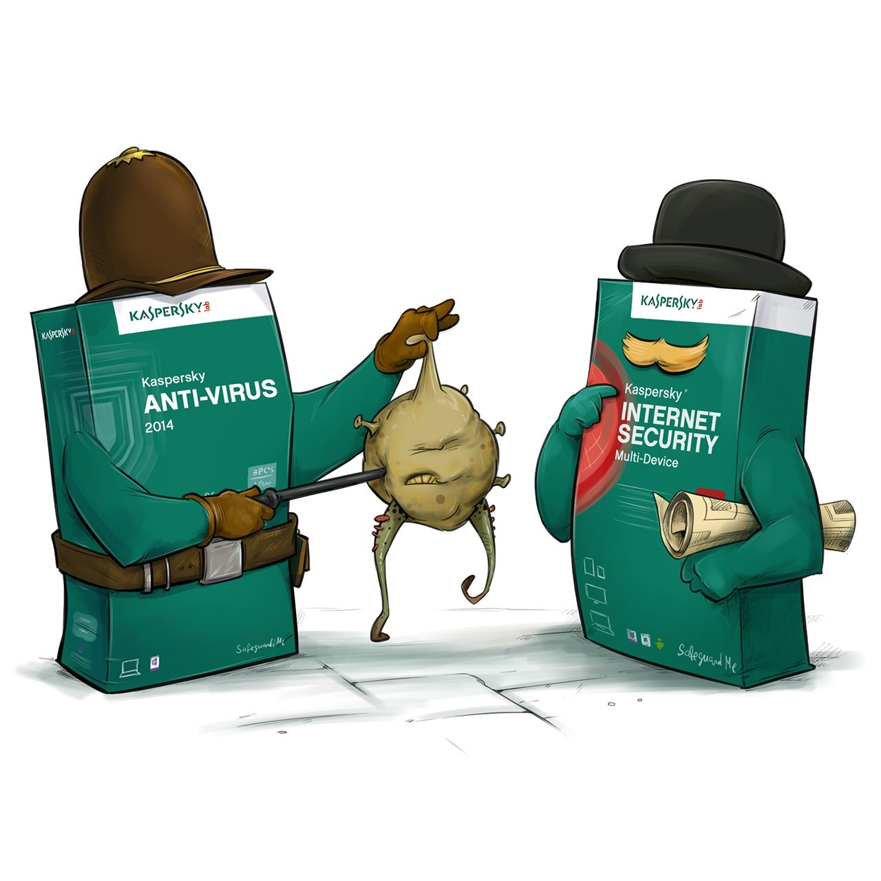 Kaspersky Anti-Virus и Kaspersky Internet Security: в чем разница?