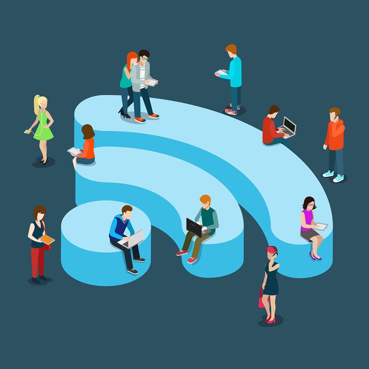 Правила безопасности при пользовании общественным Wi-Fi