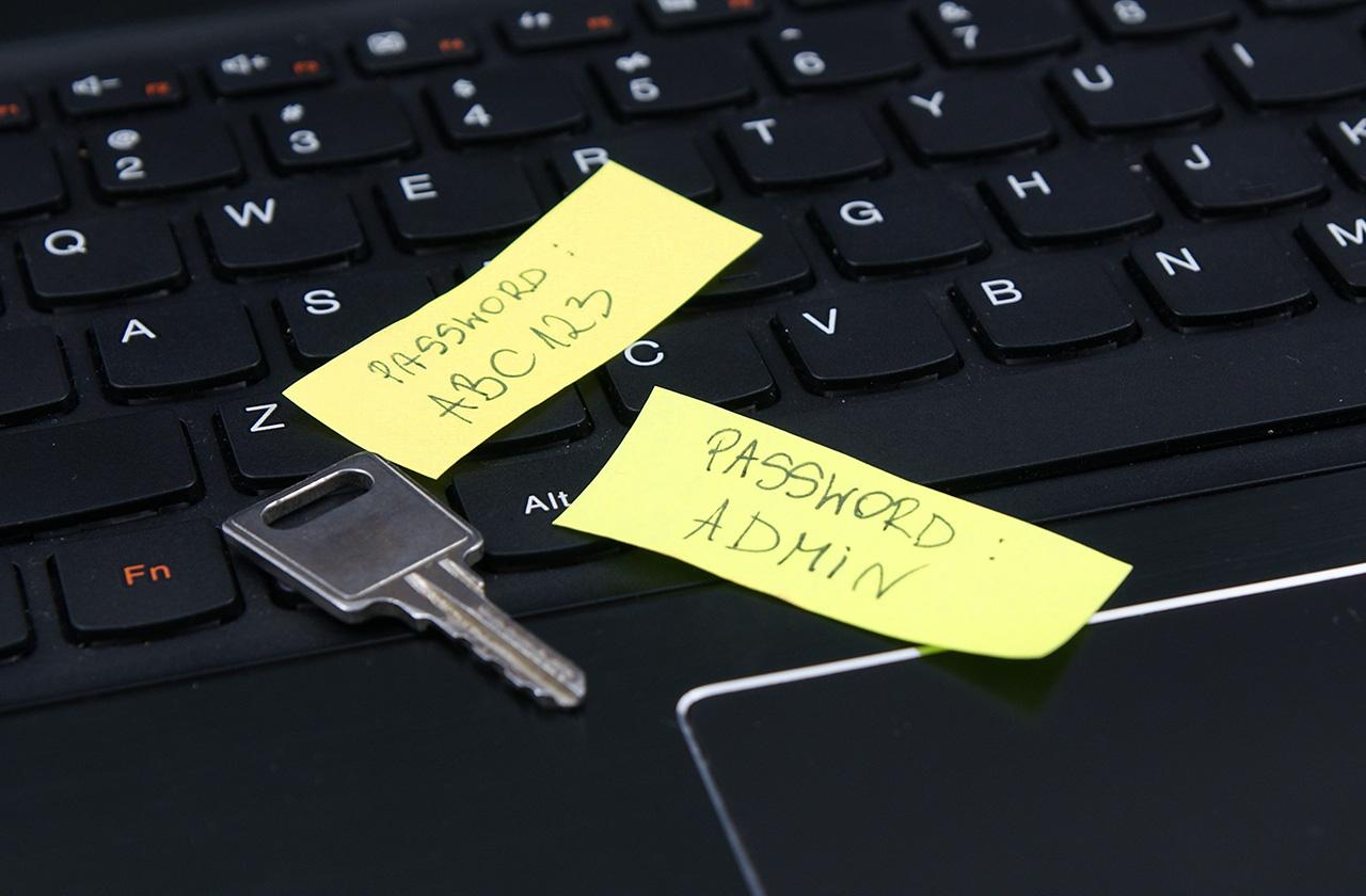 Как не надо пользоваться паролями