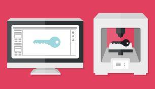 Как открыть замок с помощью 3D-принтера