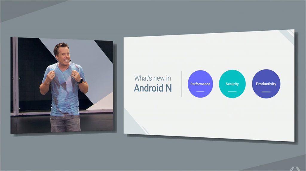 Goggle I/O 2016: Android N
