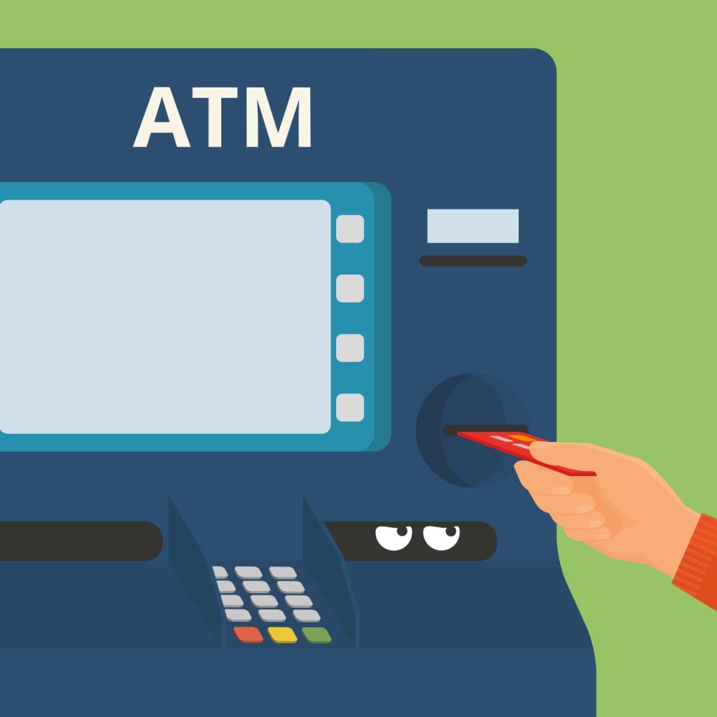 Невидимые скиммеры в банкоматах