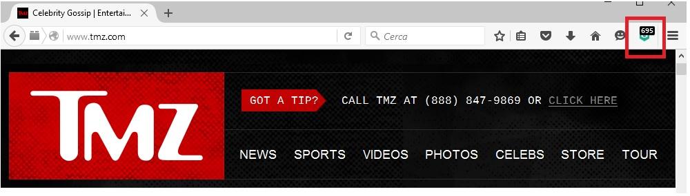 Сайт TMZ.com