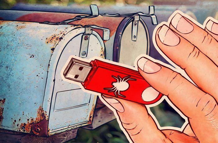 Не подключайте к компьютеру первую попавшуюся флешку