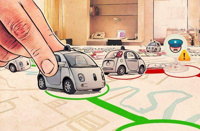 Waze: войны на навигационной карте