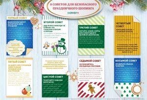 покупки, онлайн-шоппинг, Интернет, Новый год, советы, инфографика