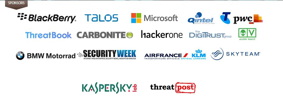 Security Analyst Summit 2017: спонсоры
