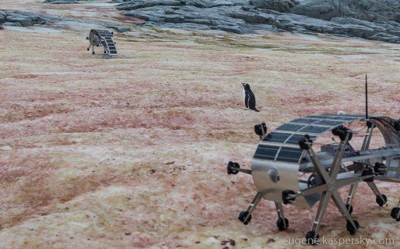 Пока мы боремся с компьютерными вирусами, Glaciator будет утрамбовывать снег, чтобы не пустить в мир доисторические биологические вирусы.