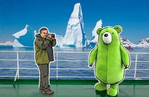 Антарктика живьем