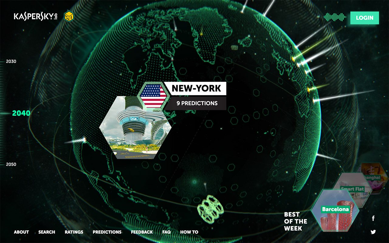 Земля 2050: сайт проекта