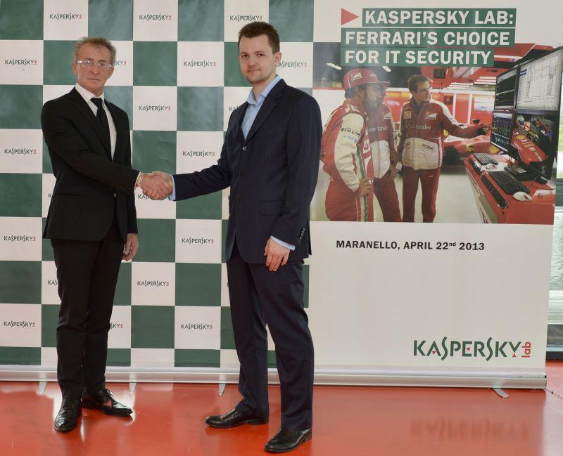 Kaspersky, Ferrari