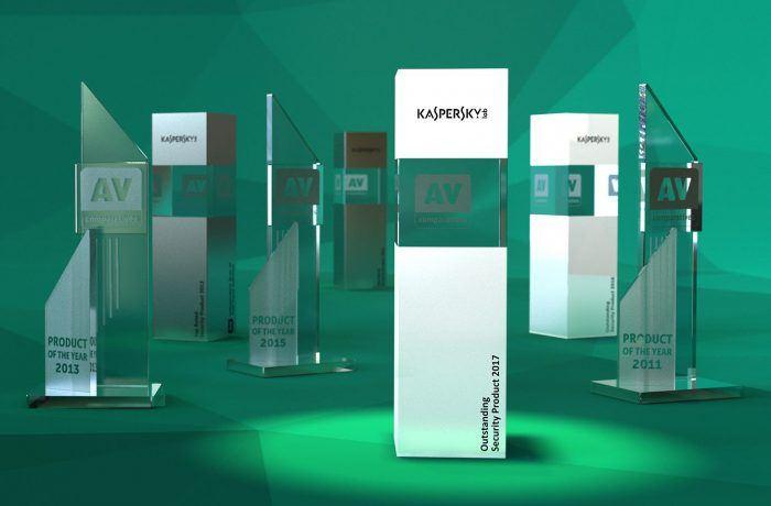 Награды Kaspersky Internet Security и других продуктов «Лаборатории Касперского»