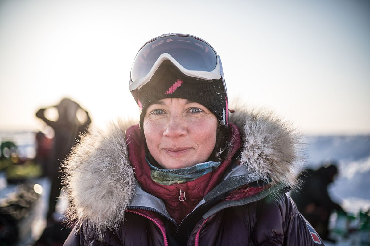 19.-Olga-Rumyantseva-on-the-ice-at-Barneo-Polar-Station-Photo-by-Renan-Ozturk