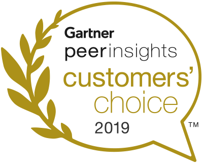 Логотип Gartner Peer Insights Customer Choice 2019