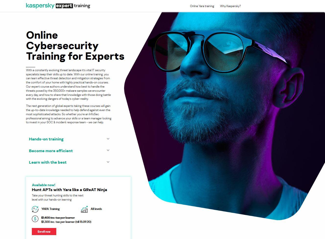 Онлайн-тренинг для экспертов по кибербезопасности: Hunt APTs with YARA like GReAT ninja