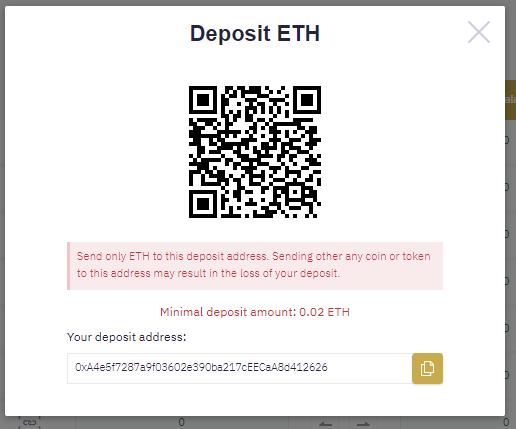 Фейковая криптобиржа просит пополнить баланс, чтобы жертва могла вывести выигранные монеты