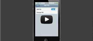 iphone pin screen