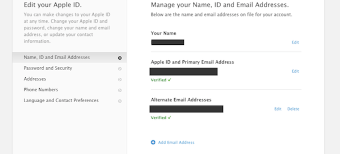 AppleID Security