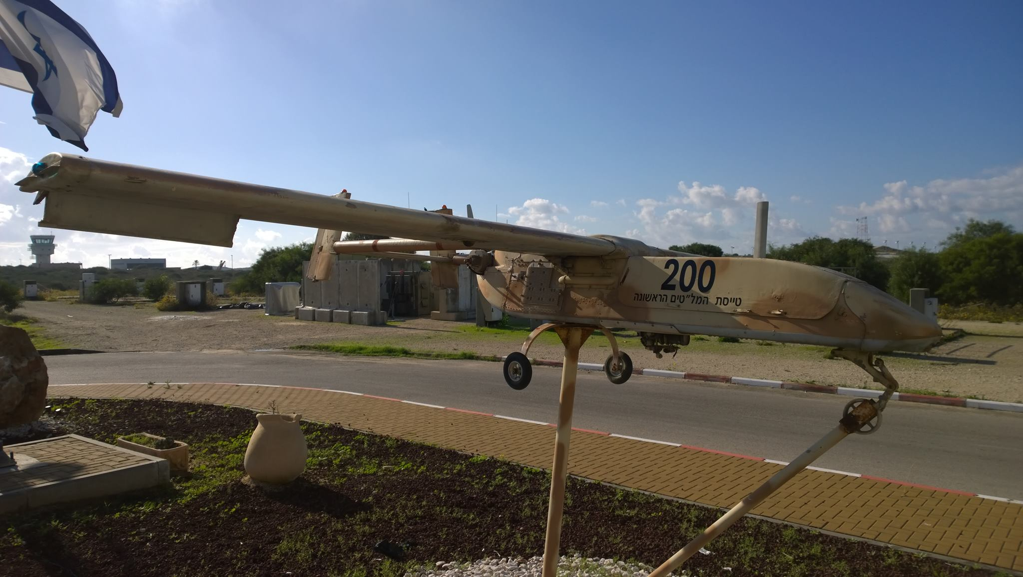 IAI Scout, the first Israeli UAV