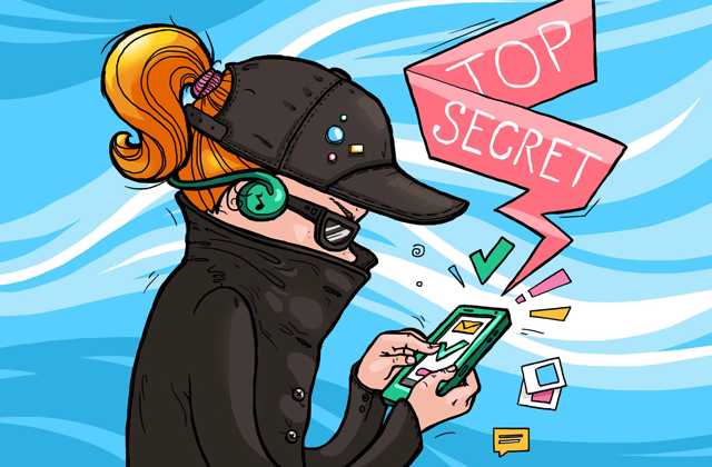 Security do's and don'ts: Keeping weirdos aside