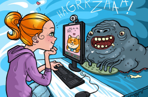 Internet security tips for kids: how not to believe weirdos online
