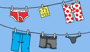 Lifehack: Treat your passwords as delicately as you treat your underwear
