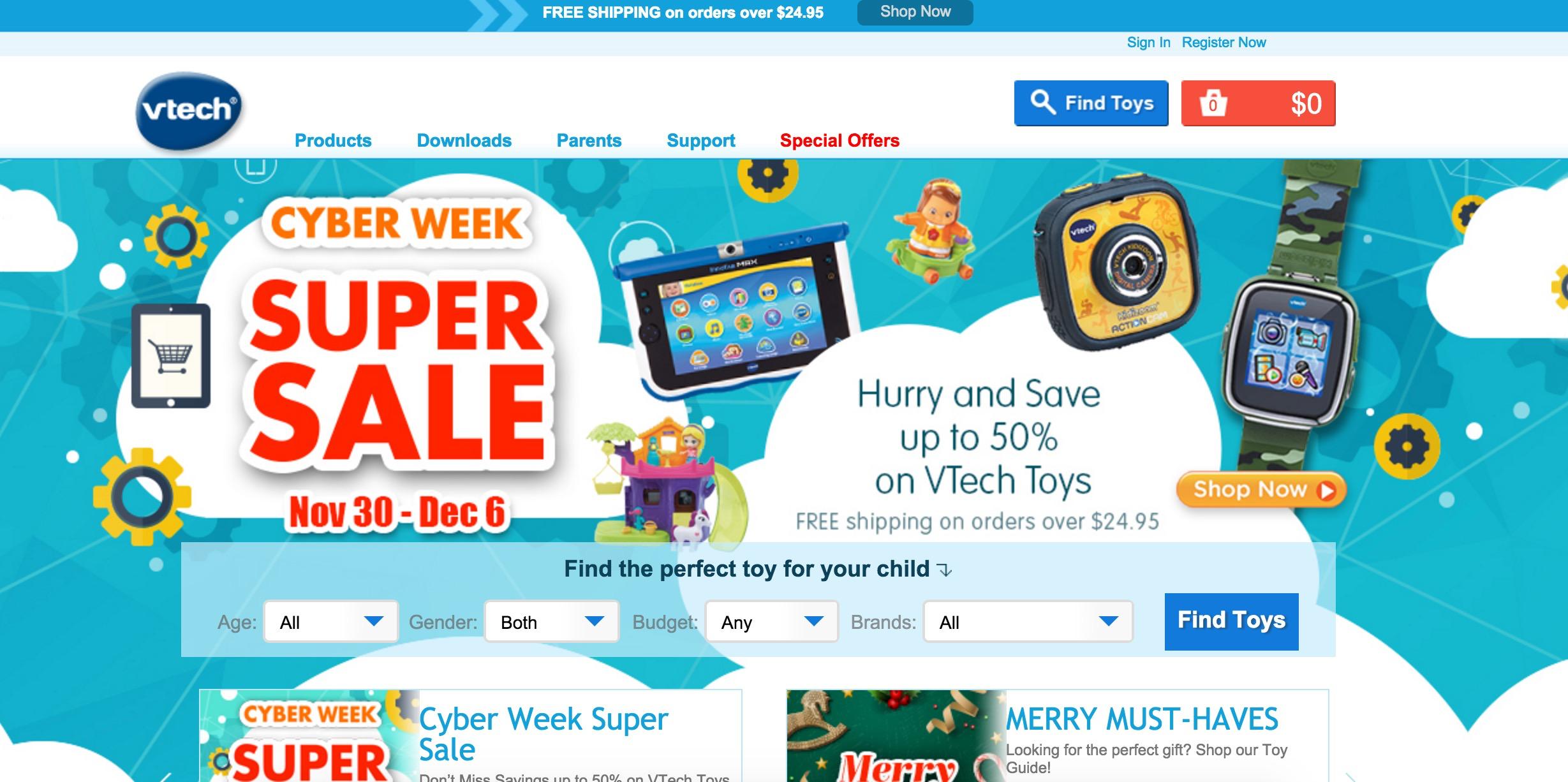 5 Million VTech accounts hacked – kids' data exposed