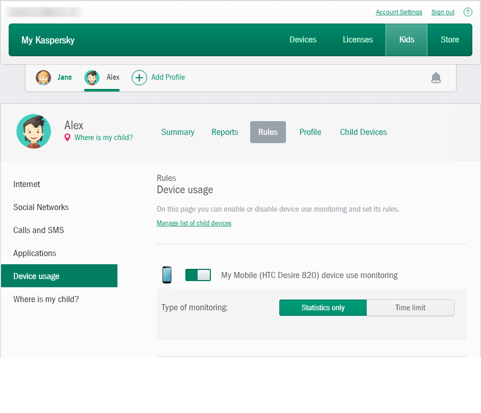 How to manage your kid's screen time with Kaspersky Safe Kids