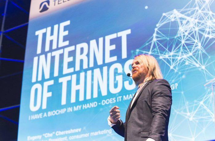 #BionicManDiary entry 006: Evgeny Chereshnev talks Internet of Us at Campus Party Brazil