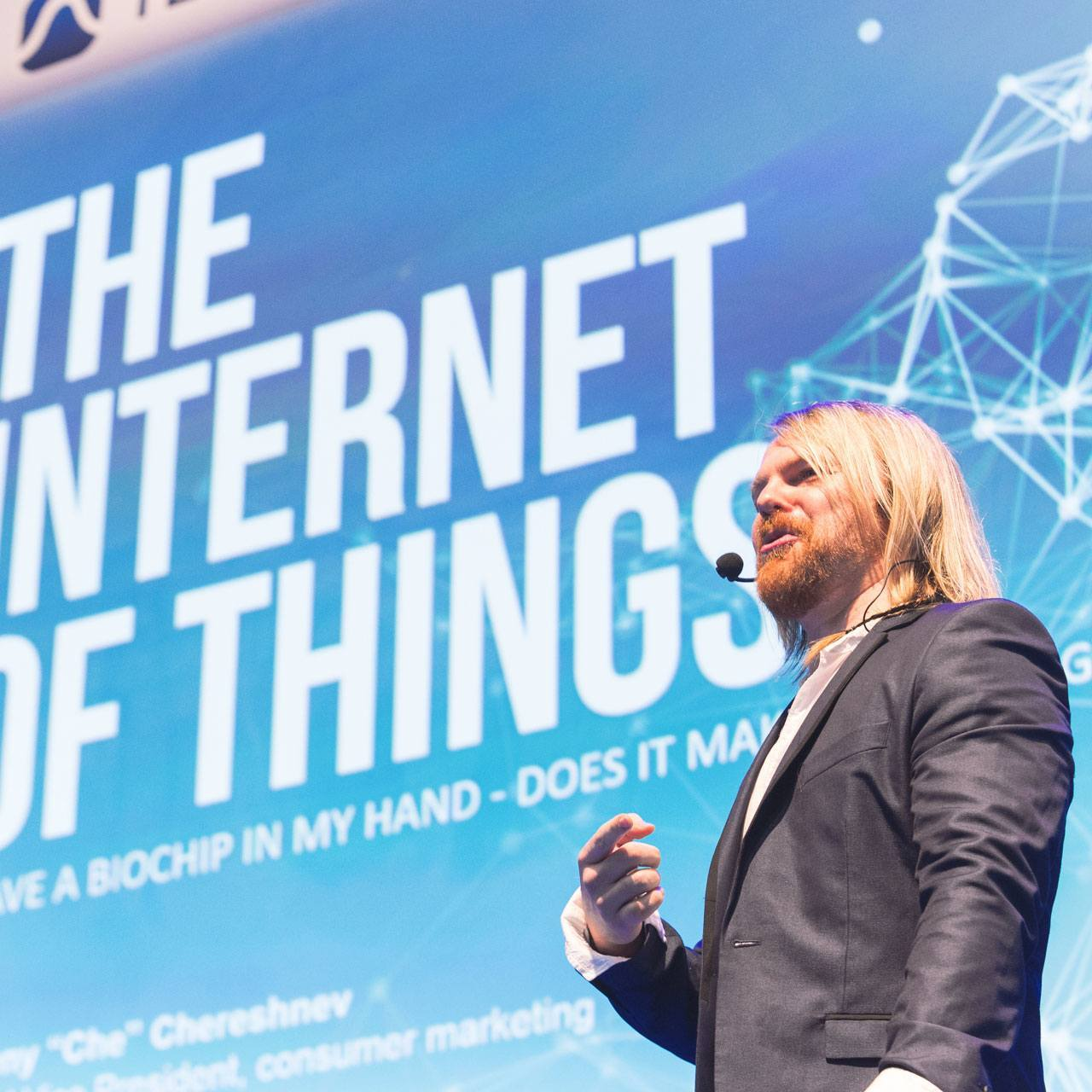 #BionicManDiary entry 006: Evgeny Chereshnev talks Internet of Us at Campus Party Brazil