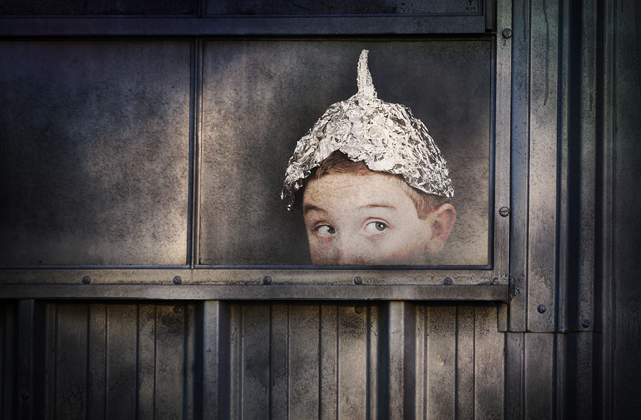 Tin foil hat: classic style
