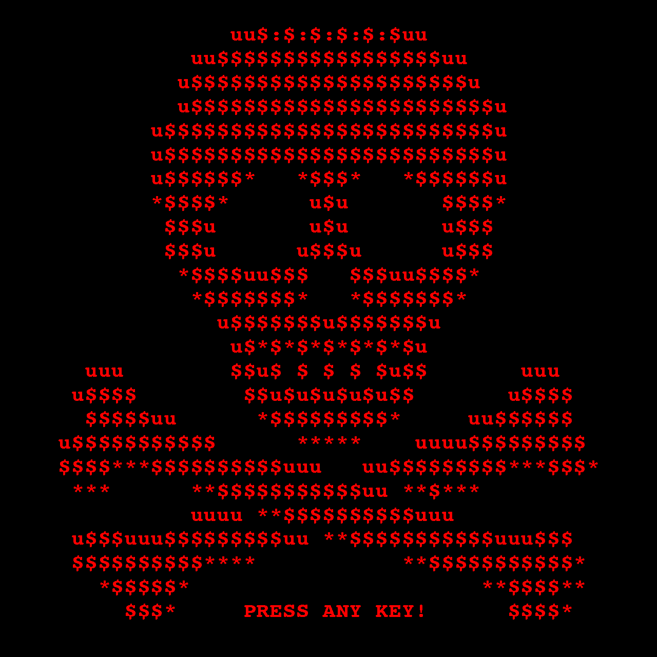 Petya ransomware eats your hard drives