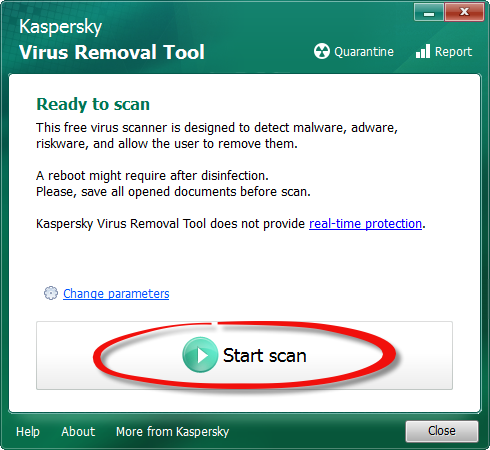 Your PC's gone slow? Scan it for viruses!