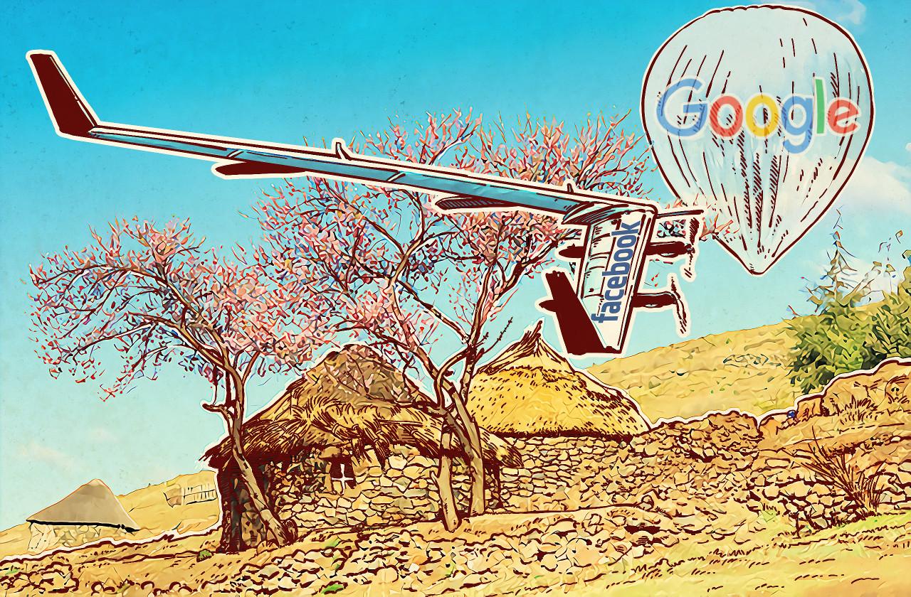 Facebook Aquil vs Google Loon
