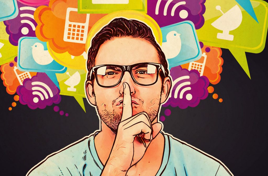 5 golden rules for social network users